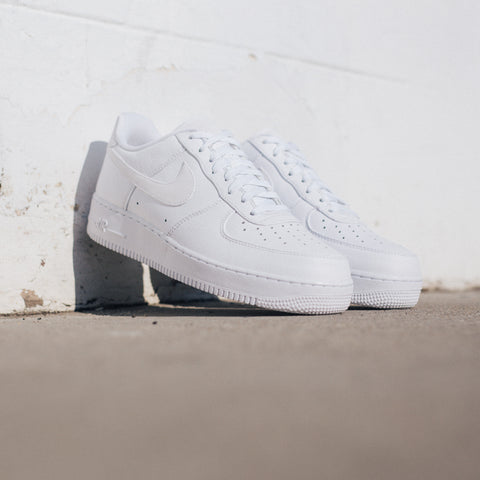 NIKE AIR FORCE 1 '07 PRM WHITE