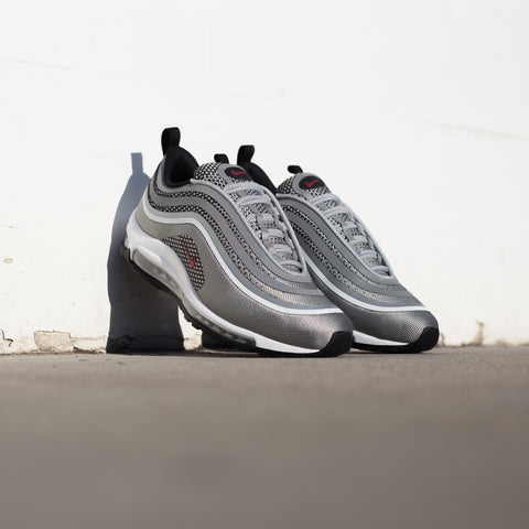 NIKE AIR MAX 97 UL '17 METALLIC SILVER VARSITY RED