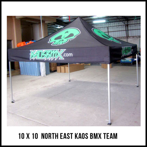 Custom KDM now offers custom pop up tents. We offer fully custom sublimated pop ups in sizes 10x10u0027 10x15u0027 and 10x20u0027. We also offer fully printed back ...  sc 1 st  Kid DynaMite Apparel Co. & Custom Tents u2013 Kid DynaMite Apparel Co.