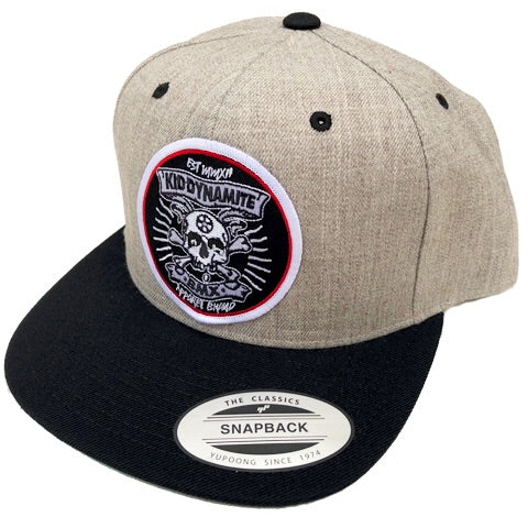 KDM SnapBack Light Grey & Black