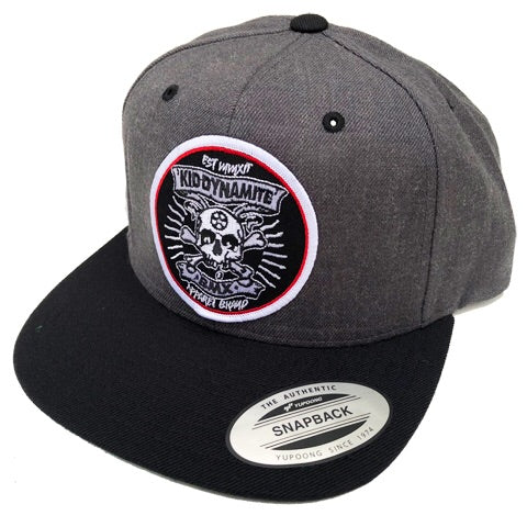 KDM SnapBack Dark Grey & Black