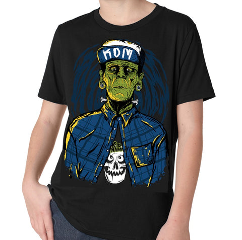"""Friday the 13"" release Frankenstein KDM Tee"