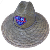 KDM Straw Sun Hats - Lifegaurd