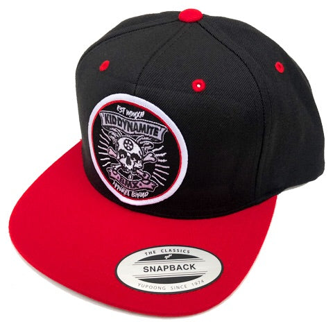 KDM SnapBack Black with Red Hat