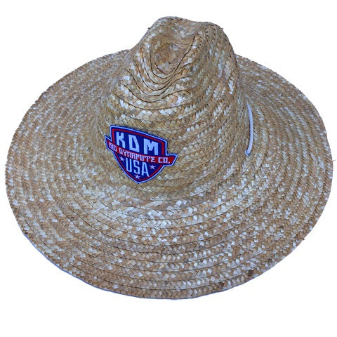 KDM Straw Sun Hats - Field Hat