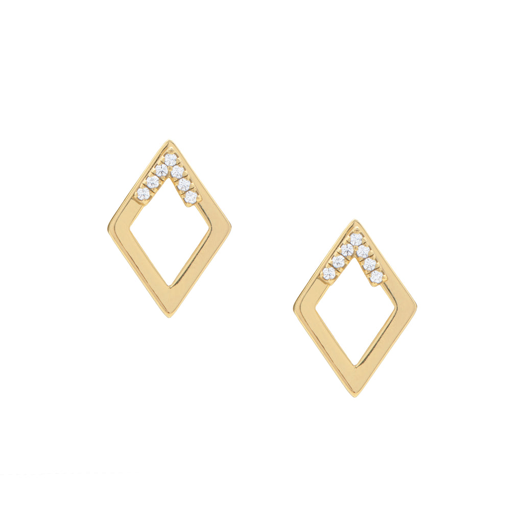 Pavé Accent Earrings