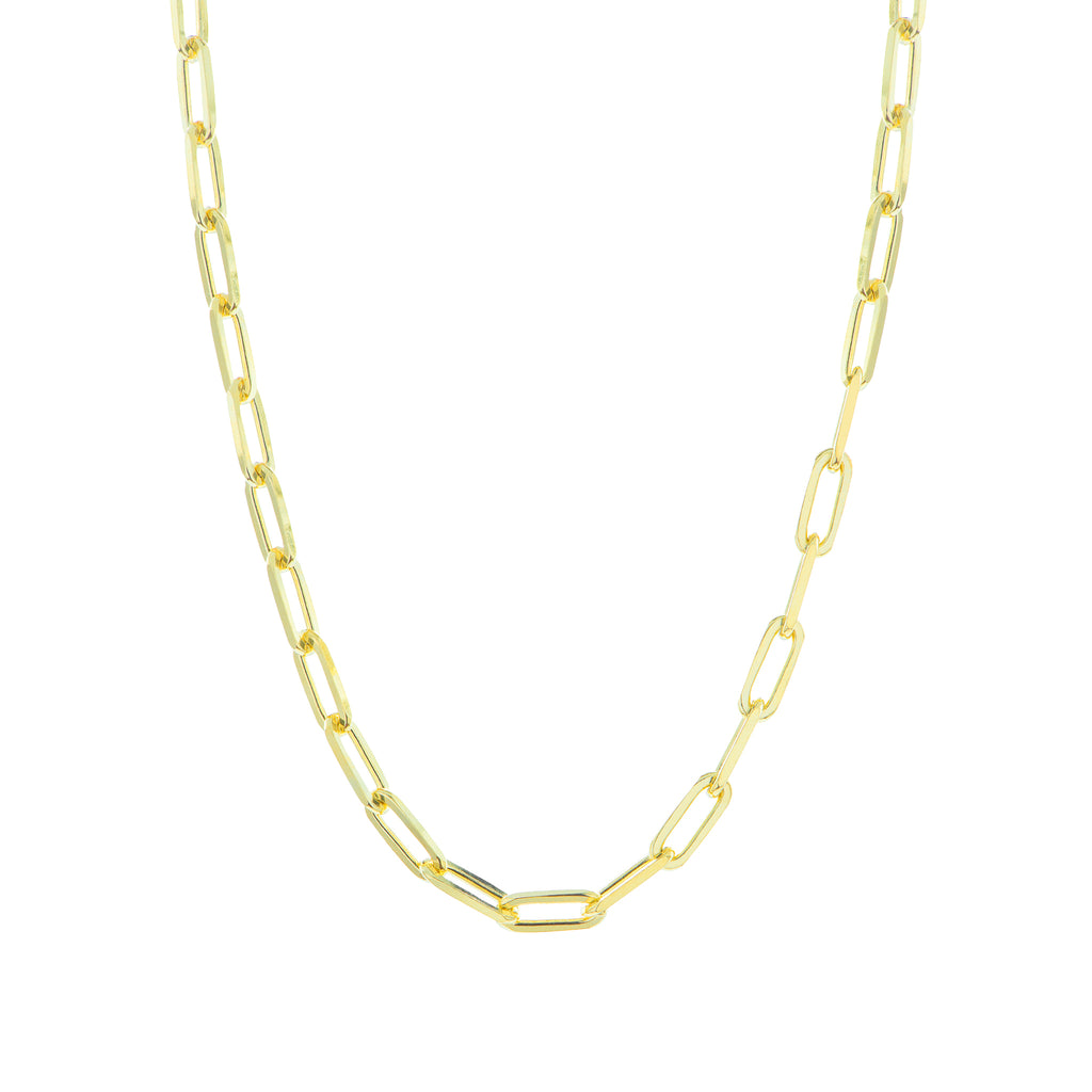 Stay Golden Thin Necklace