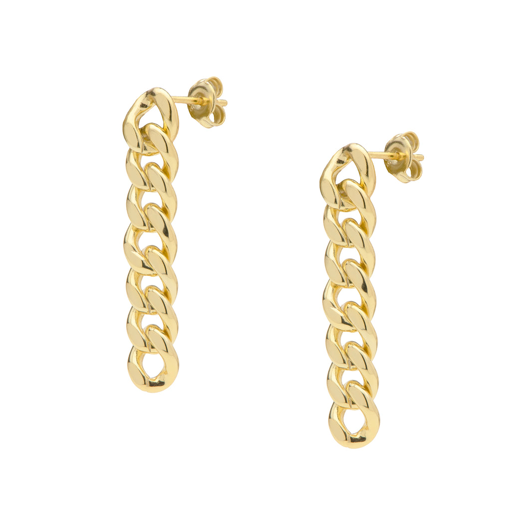 Curb Chain Earrings