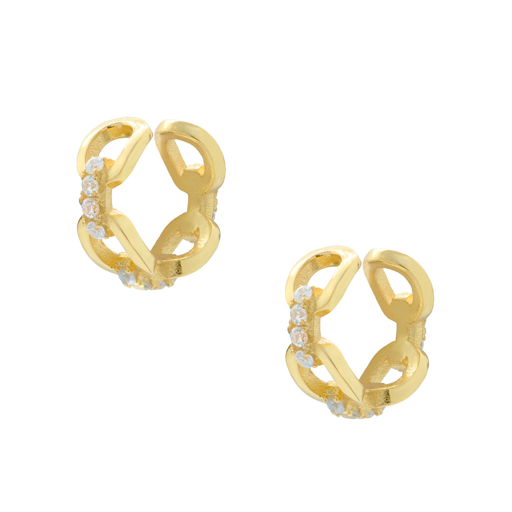 Chain Ear Cuffs