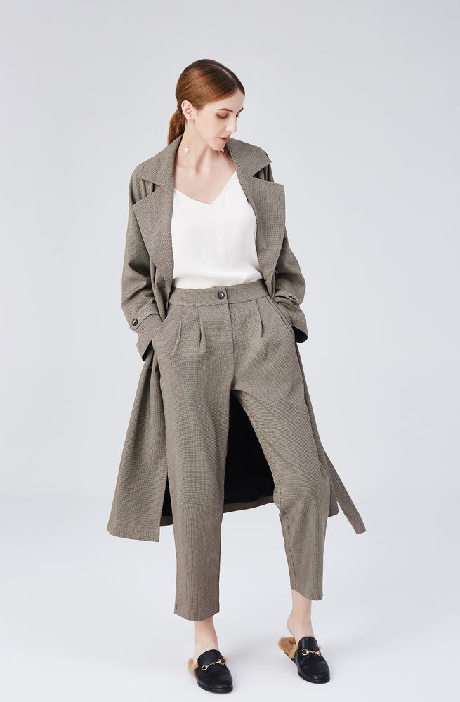 Blair High Rise Pants - Light Walnut