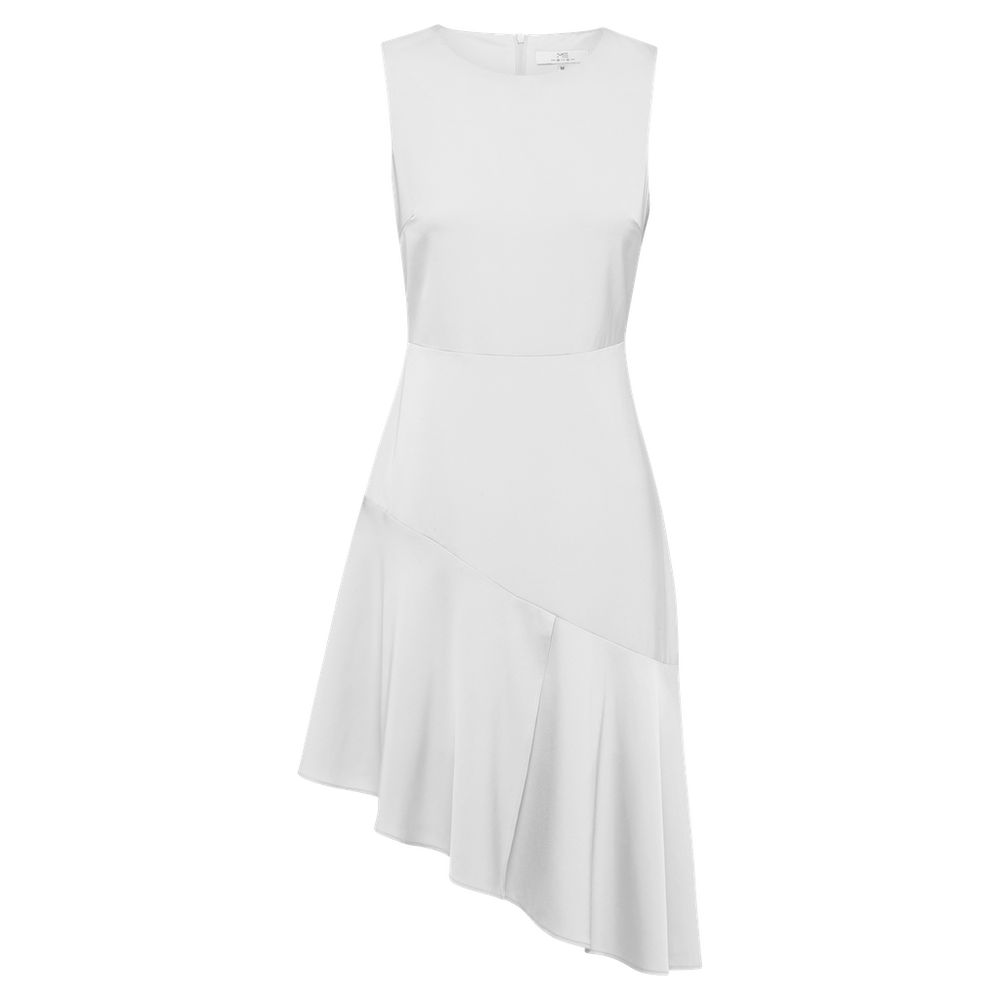 White Lydia Dress - MsHEM women clothing