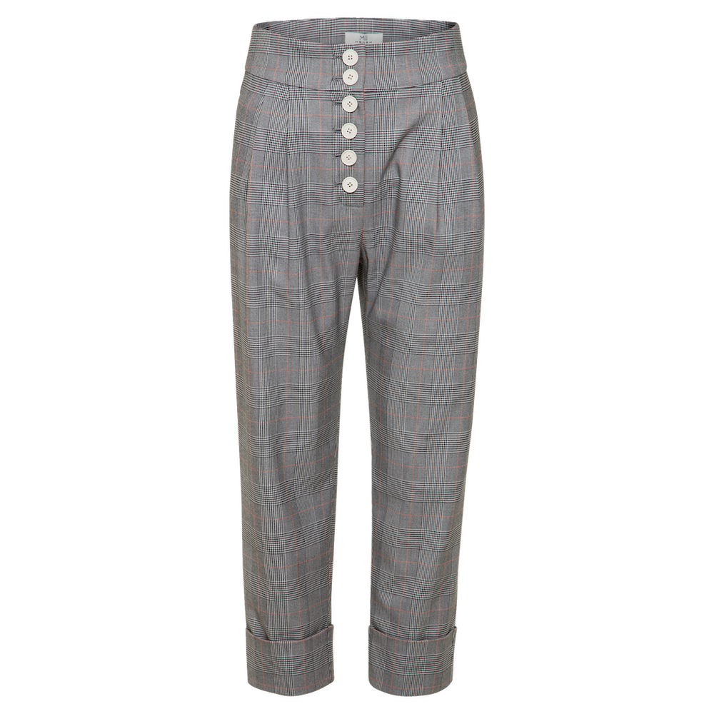 Elina High Rise Pants - MsHEM