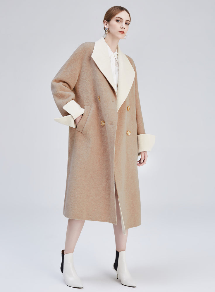 Alison Wool Coat - MsHEM women clothing