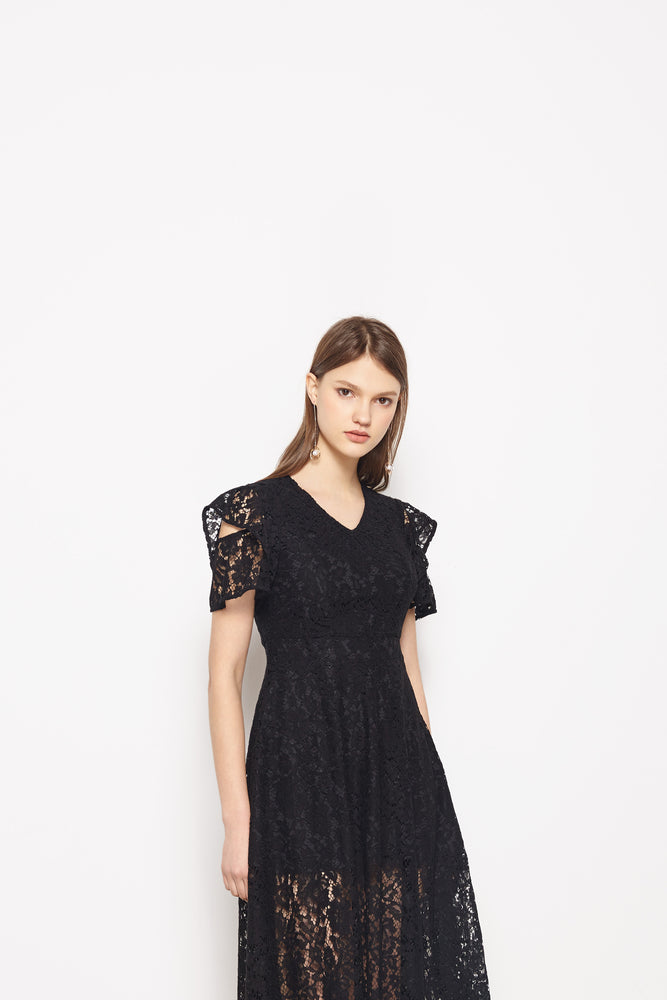 Black Luna Dress - MsHEM women clothing