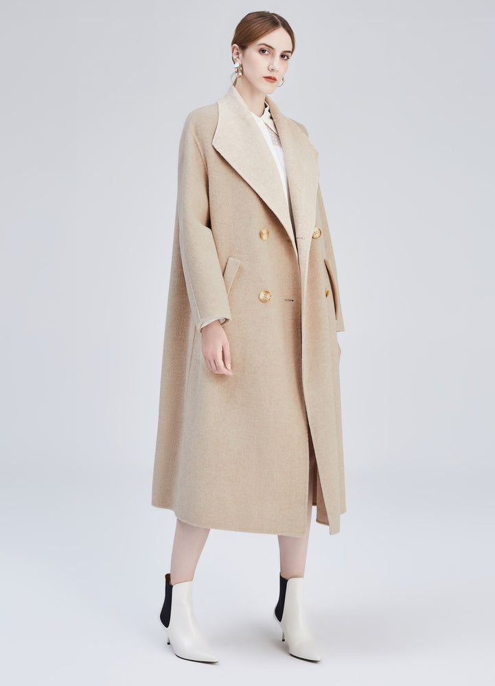 Madison cocoon coat