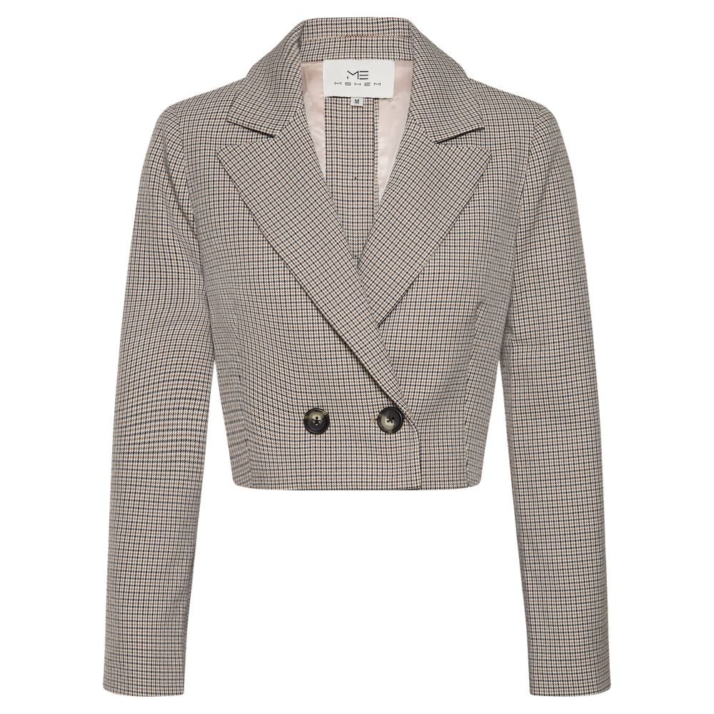 Blair Cropped Blazer - MsHEM women clothing
