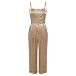 Stella Champagne Jumpsuit - MsHEM women clothing