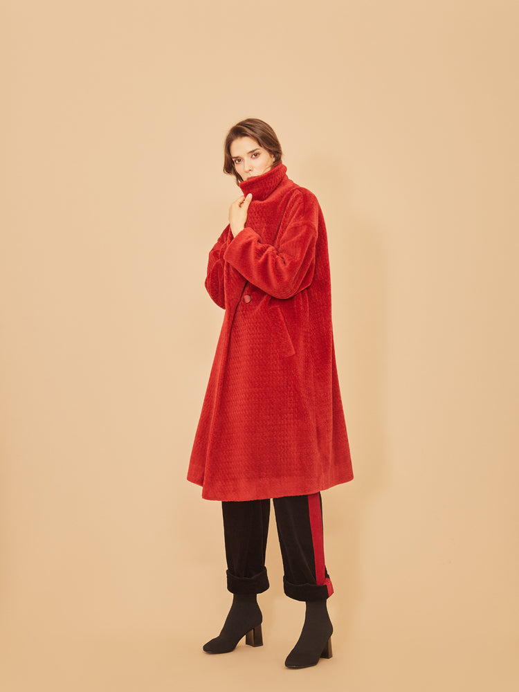 Scarlett Wool Coat - MsHEM women clothing