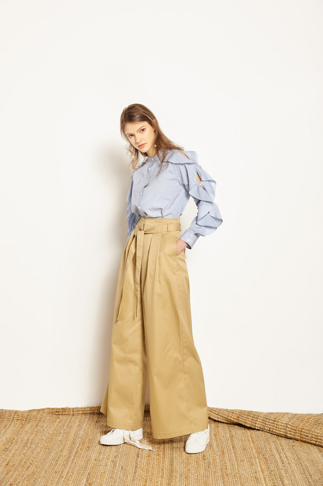 Laura Palazzo Pants - MsHEM women clothing
