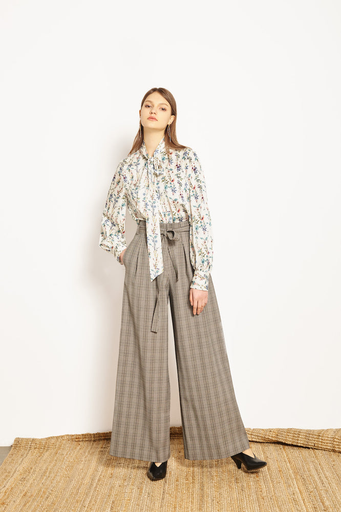 Elina Palazzo Pants - MsHEM women clothing