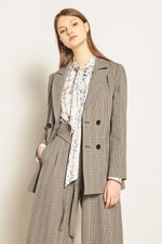 Elina Dark Welsh Blazer