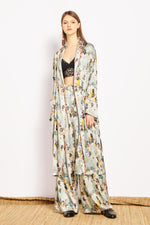 Jade Silk Robe - MsHEM women clothing
