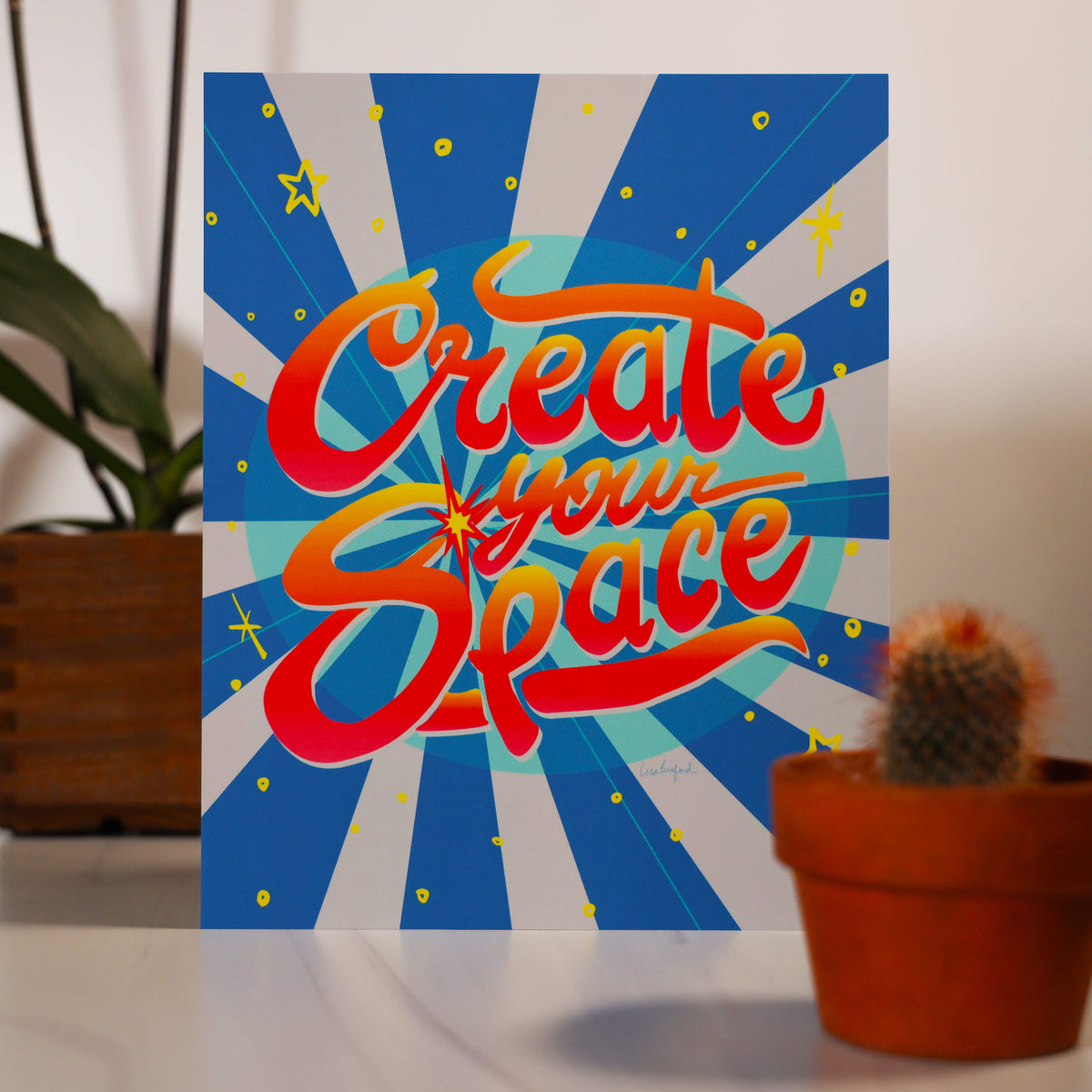 Create Your Space 8x10 Print