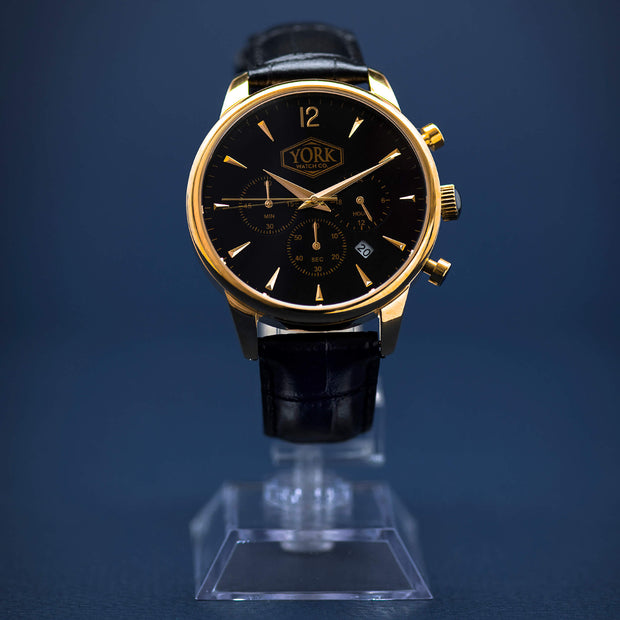 The Chrono Executive Gold & Black