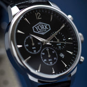 The Chrono Executive Silver & Black