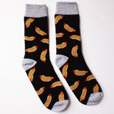 Men's Hot Dog Design Socks