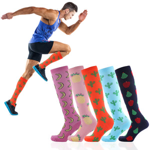 Banana Design Compression Socks - Kit Carson Accessories