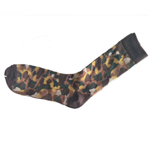Camouflage Socks Yellow,  Brown, Green - Kit Carson Accessories