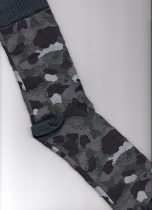 Camouflage Socks in Grey Colors - Kit Carson Accessories