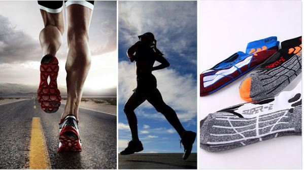 Sports Socks Running, Cycling, Basketball Socks - Kit Carson Accessories
