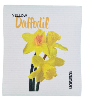 Daffodil Swedish Dishcloth