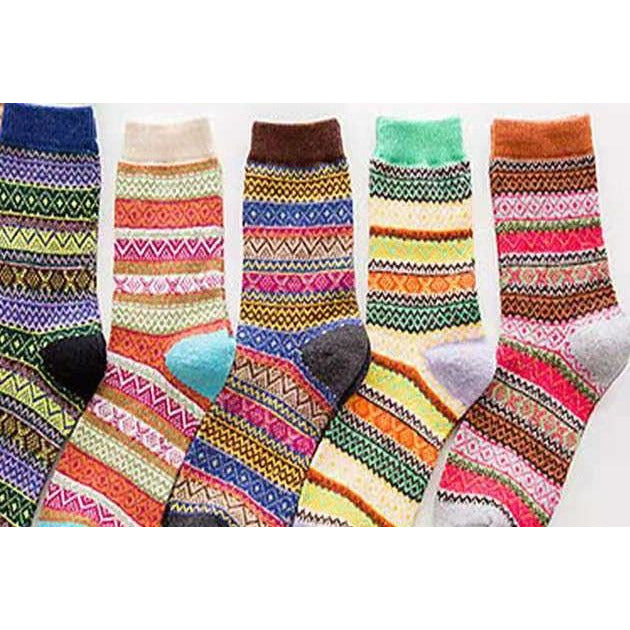 Women's Wool Socks - Kit Carson Accessories