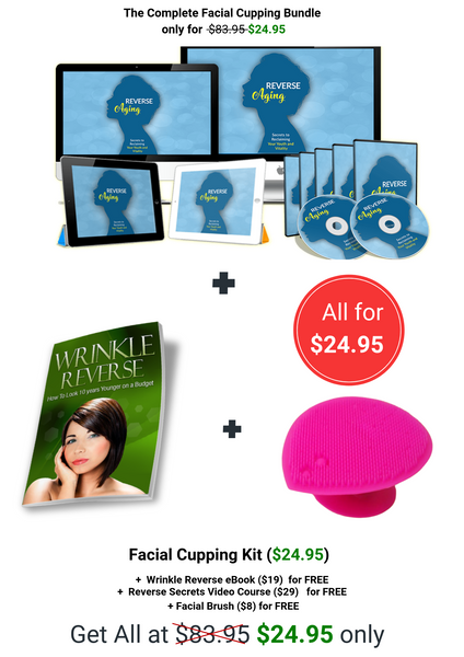 offer ageing reverse ageing anti-ageing cups facial cups