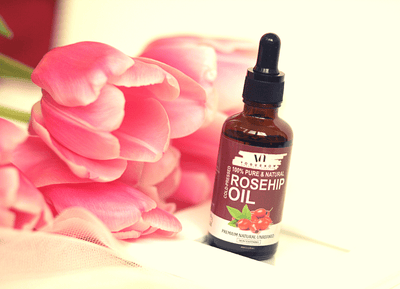 VogueNow Organic Rosehip Oil - Pack of 2 Bottles (45ml)