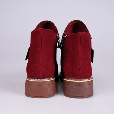 Retro Suede Winter Boots