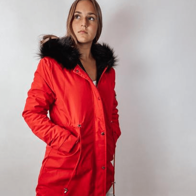 Caper Hooded Coat