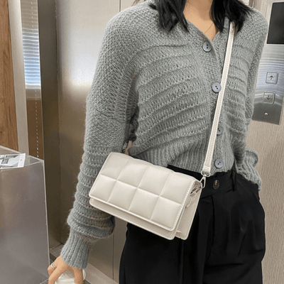 Plaid Single Shoulder Bag
