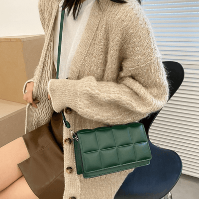 Luxury Plaid Single Shoulder Bag