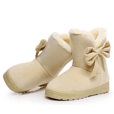 Snoopy Bowtie Snow Boots