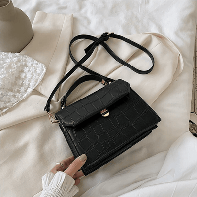 luxury stone pattern crossbody bag