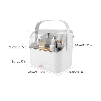 On the Go Cosmetic Storage Box