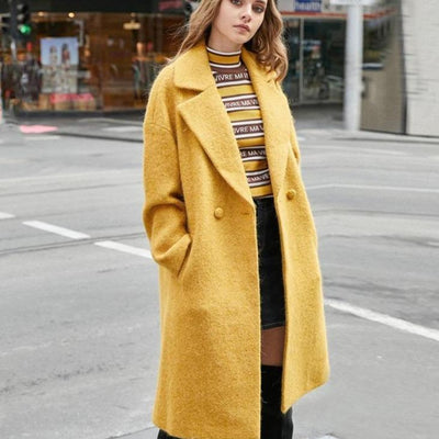 Winter Alpaca Coats for Women