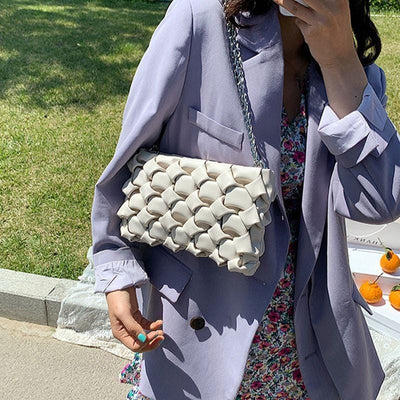 Versatile Patterned Luxury Clutch