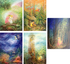 Fairy Tale Postcards, Set of 14