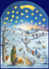 """A Winter Scene"" Advent Calendar (47 doors)"