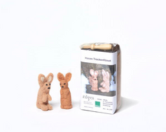"Needle Felting Kit ""Rabbits"""